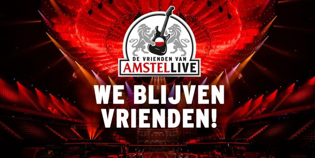 De Vrienden Van Amstel Live 2021 Jaar Uitgesteld Naar Januari 2022 Bierradio Nl